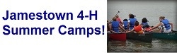 Williamsburg Jamestown 4-H Summer Camps